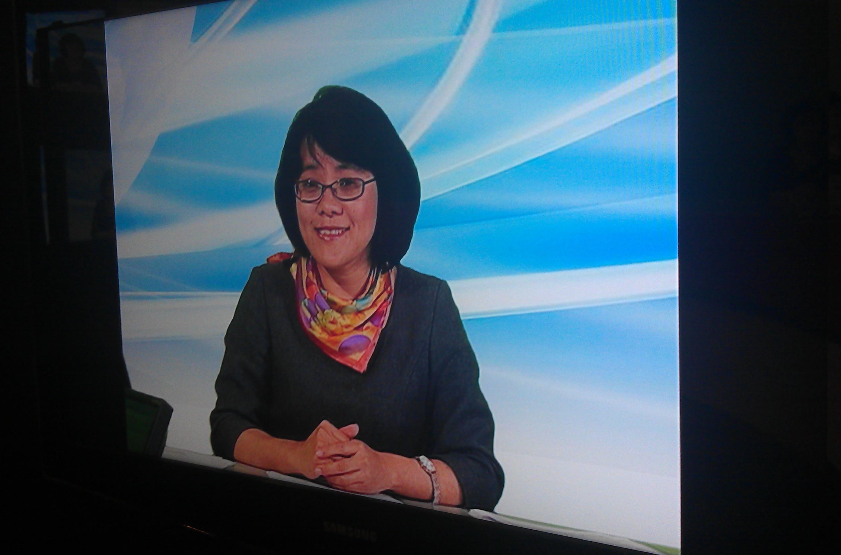 2012年底接受WTV采访